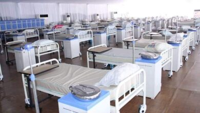 Covid-19 treatment centre