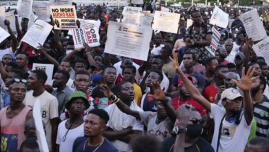 Nigerian Youths #EndSARS protests