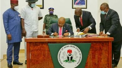 Governor Emmanuel Signs 2021 Budget Of N456.2b Into Law