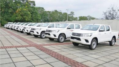 A'Ibom Gov't Presents New Vehicles To Security Operatives