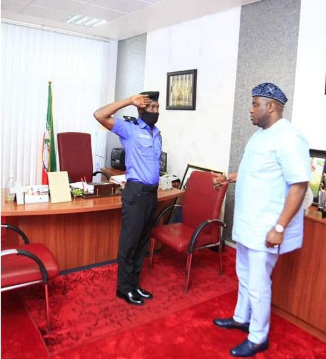Senator Bassey Albert Facilitates Recall Of Police Officer After 21 Years Of Wrongful Dismissal